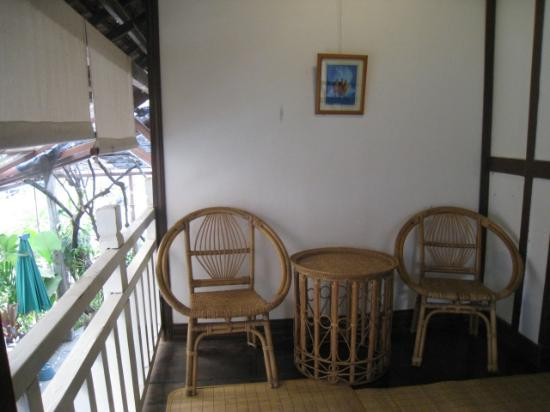 Lao Heritage Hotel: upstairs