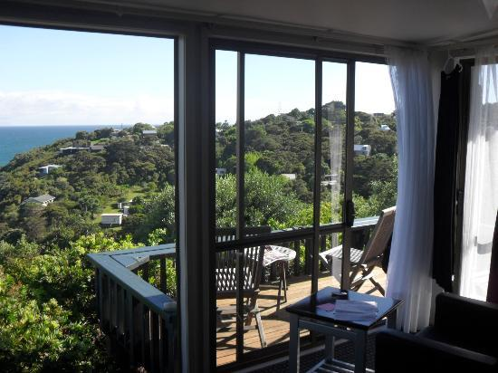 Tawa Lodge Waiheke Island: Wake up to this!