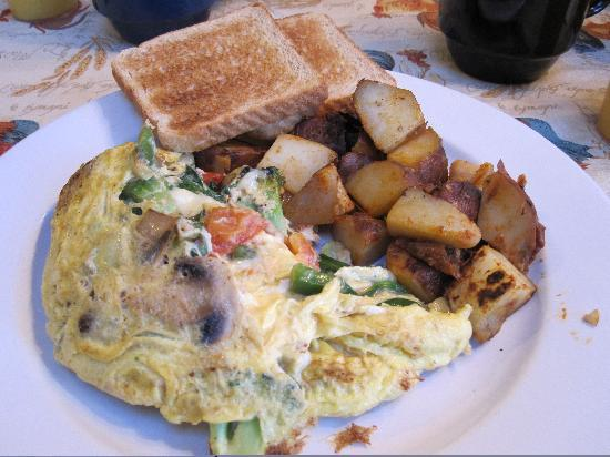 Butternut on the Mountain: Omlette