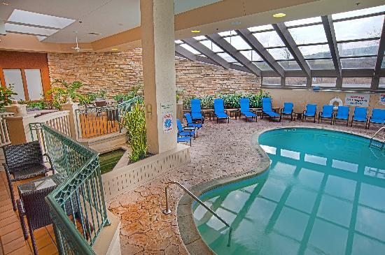 Indoor Pool Picture Of Sheraton Westport Plaza Hotel St Louis Maryland Heights Tripadvisor
