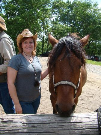 KD Guest Ranch: Me and my trusty steed, Josie
