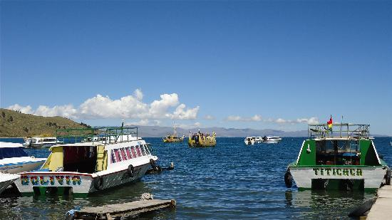 : lago titicaca