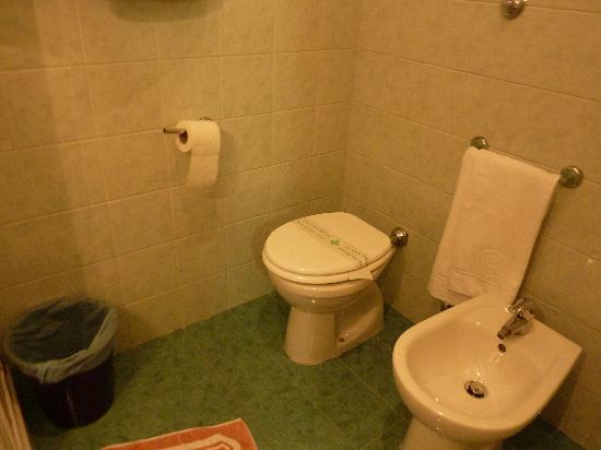 Hotel Oriente: Toilet