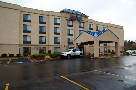 Fairfield Inn Binghamton: L&#39;extrieur de l&#39;htel