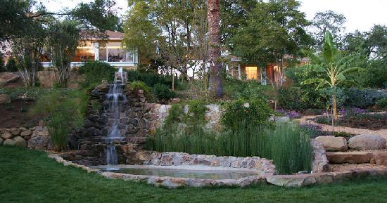 Ojai Retreat: Waterfall and Gardens