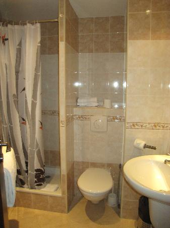 Small bathroom picture of hotel suede nice tripadvisor for Nice small bathrooms