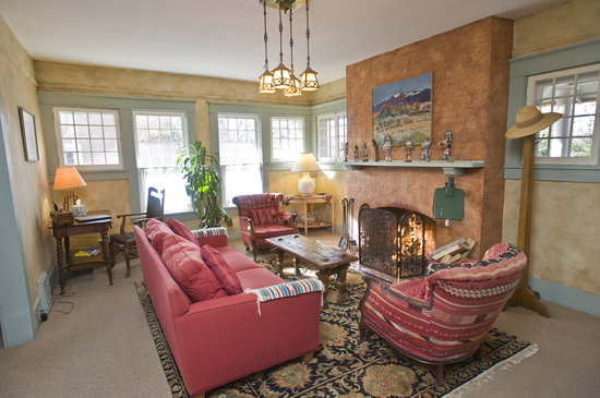 Don Gaspar Inn: The Main House Sitting Room