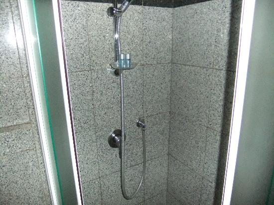 Hotel Engadina: Shower recess