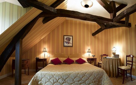 Hotel Le Manoir les Minimes : chambre tradition 