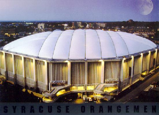 Carrier Dome Syracuse New York Carrier Dome at Syracuse