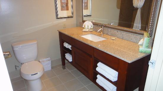 Country Inn & Suites Phoenix Airport at Tempe: Good Size Bathroom