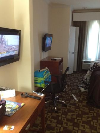 Sleep Inn &amp; Suites Shreveport: is this a suite???
