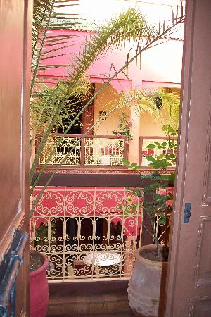 Riad Dalla Santa: patio