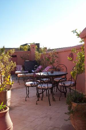 Riad Dalla Santa: terrasse sur le toit