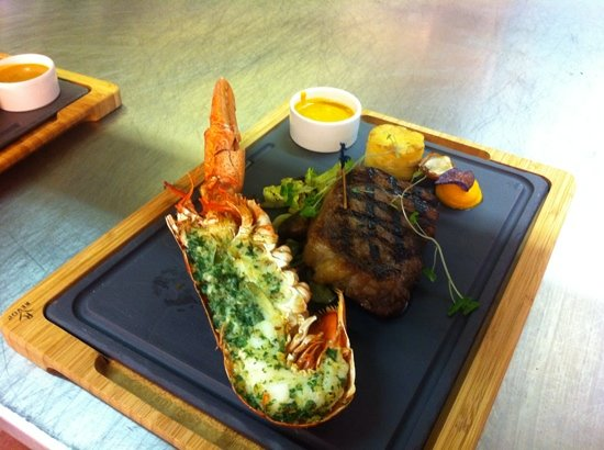 Surf n Turf. Photo courtesy of TripAdvisor