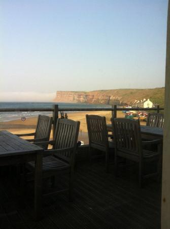 Saltburn-by-the-Sea, UK: The beautiful view of Saltburn cliffs