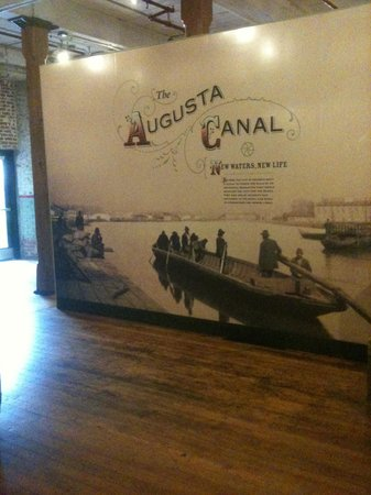 The Augusta Canal Interpretive Center at Enterprise Mill