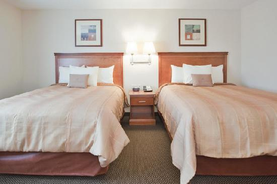 Candlewood Suites Fayetteville: Double QUEEN  Studio Suite