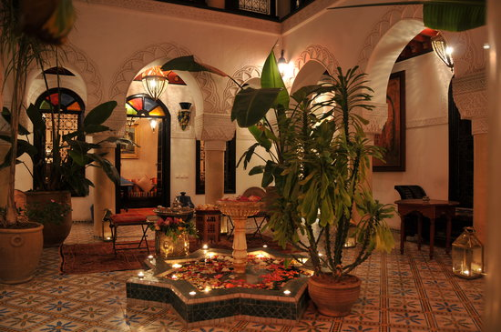 Riad Adriana: patio