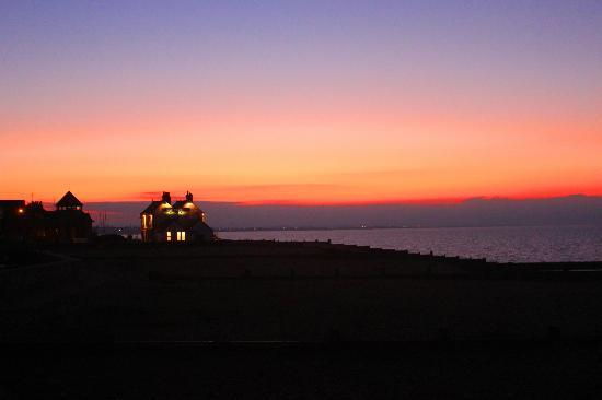 Whitstable, UK: Just after sunset