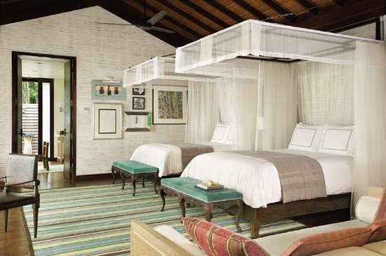 Four Seasons Resort Seychelles: Twin bed villa