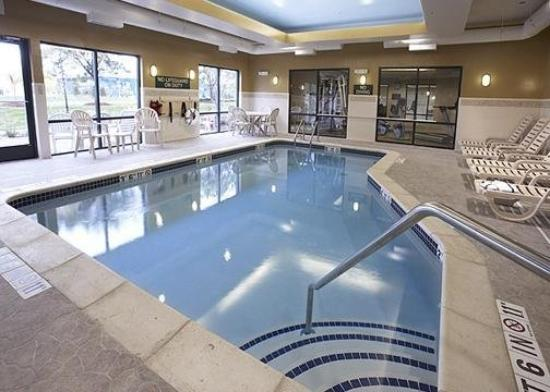 Comfort Suites Canton: Pool