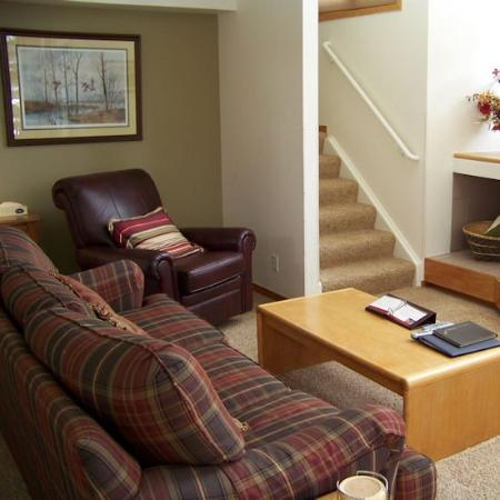 Soda Springs Condos: Living Room