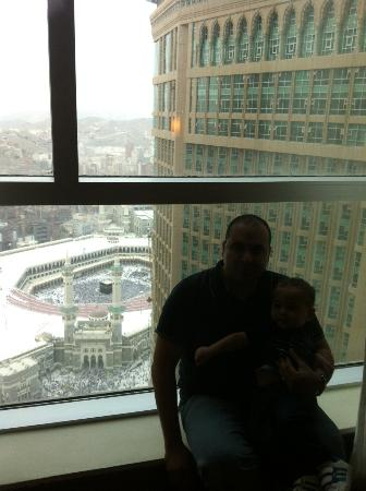 Makkah Clock Royal Tower, A Fairmont Hotel: Ka&#39;aba View