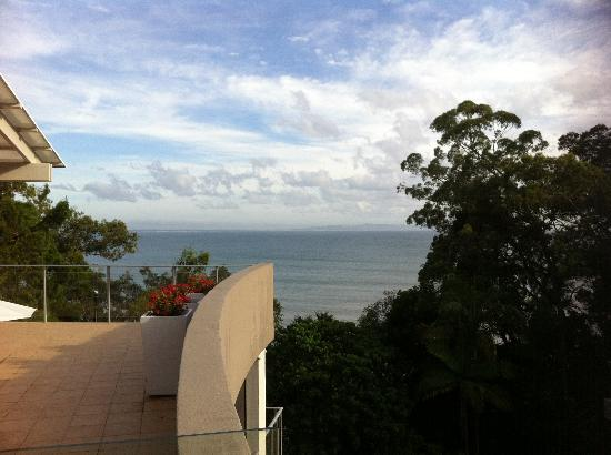 The Cove Noosa Resort: Roof top view