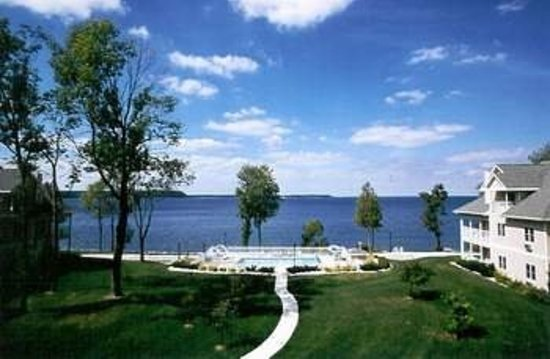 Westwood Shores Waterfront Resort : Beautiful views 
