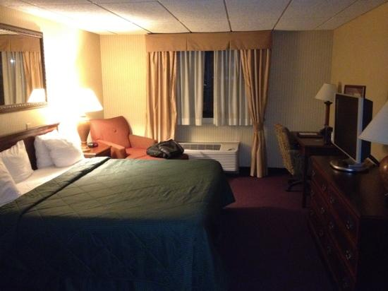 Comfort Inn Airport: nice room with flat screen tv and good wifi