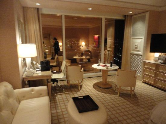 Wynn Las Vegas: The room with a fabulous view