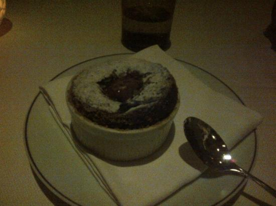 Dana Point, Kalifornia: Chocolate Souffle