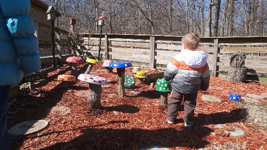 Children 39 S Sensory Garden Picture Of Mounds State Park Anderson Tripadvisor