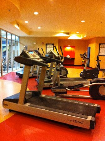 Cambria Suites Appleton: Work-out room