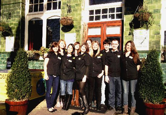 Travel Joy Hostels Chelsea: The Travel Joy&#39;s Team