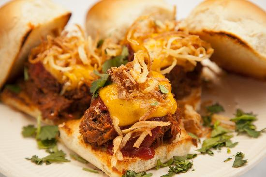 Nate's Cowboy Cafe: BBQ Beef Sliders
