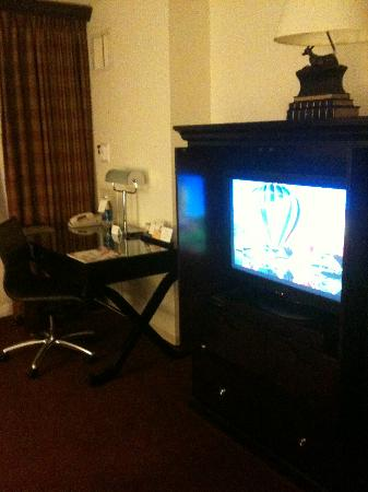 Hyatt Regency Bethesda: Flat screen tv