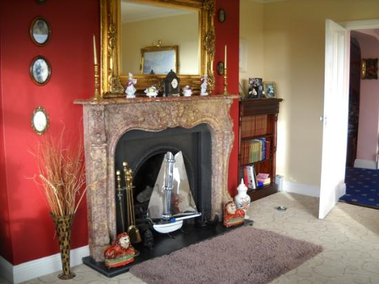 Sea Haven B&amp;B: Fireplace