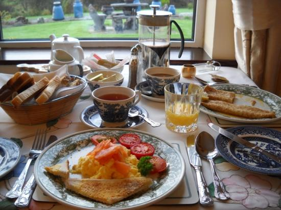 Sea Haven B&amp;B: Breakfast