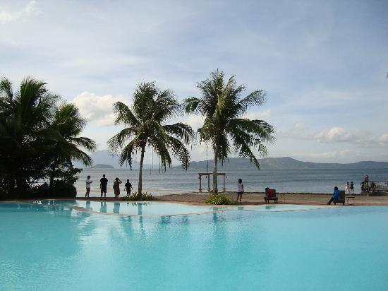 Taal volcano picture of club balai isabel talisay