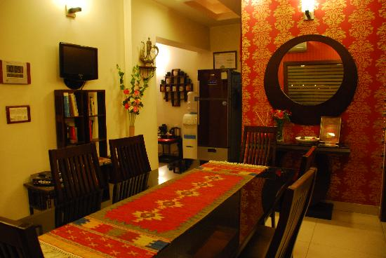 Sai Villa: Dinning area