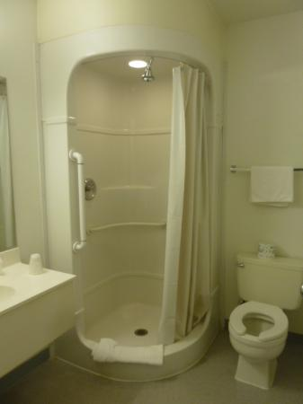 Motel 6 Weed - Mount Shasta: new molded shower