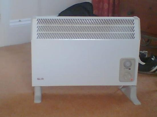 Oakbank House: Convector heater provided