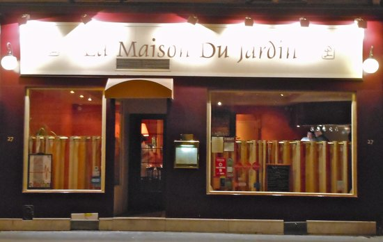 La maison du jardin restaurant reviews paris france tripadvisor for Maison du jardin paris