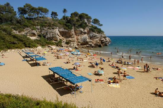 Salou, Spanyol: Cala Vinya