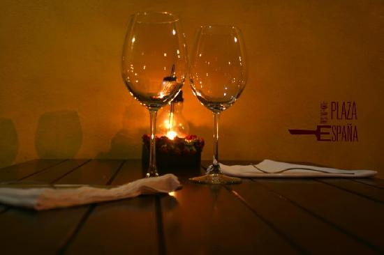 Cenas romanticas picture of restaurante plaza espana for Romantic restaurant san jose