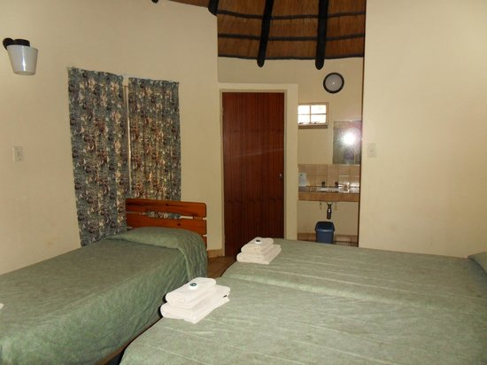 Letaba Rest Camp: het interieur