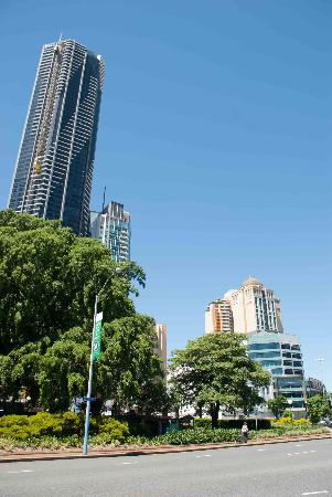 Fortitude Valley, ออสเตรเลีย: A great park in the middle of Brisbane