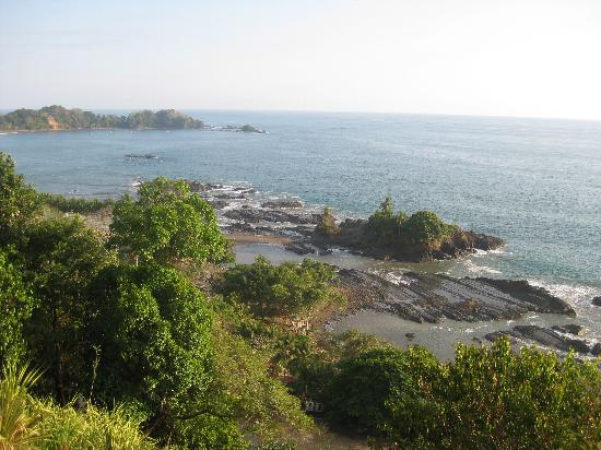 Dominical, Costa Rica: the view from villa 1